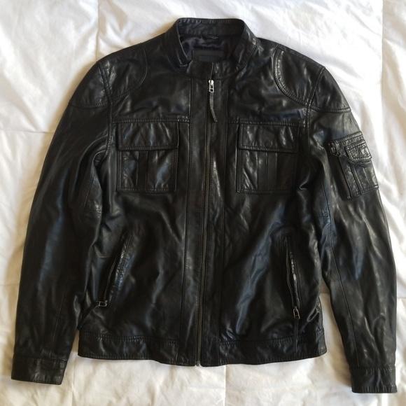 718d1d0f5 7 Diamonds - Genuine Leather Moto Jacket